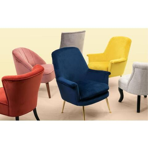 Carson Carrington Banarp Channel Tufted Accent Chair