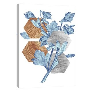 """PTM Images 9-105852  PTM Canvas Collection 10"""" x 8"""" - """"Botanical Studies 1"""" Giclee Flowers Art Print on Canvas"""