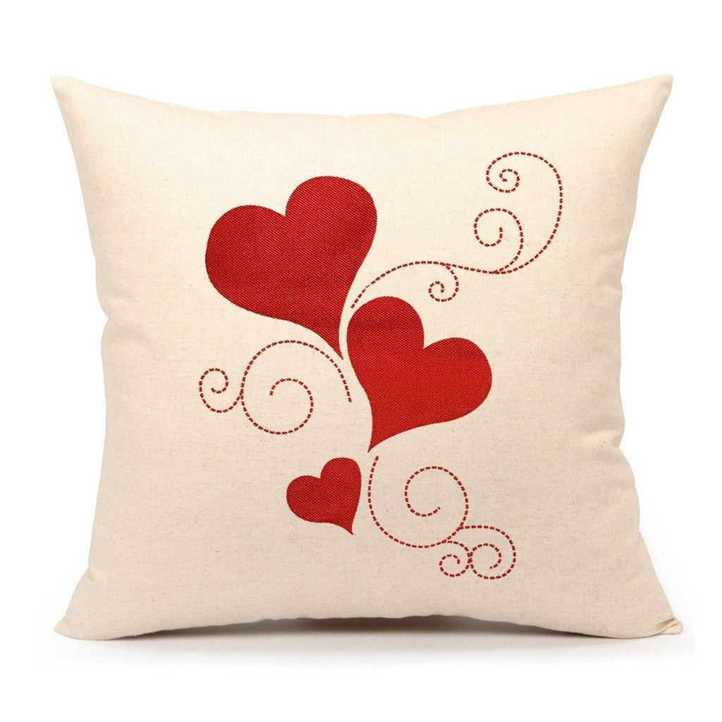 Valentine S Day Throw Pillow Cover Cushion Case Overstock 26880792