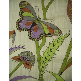 Handmade 100% Cotton Butterfly Floral Print Tapestry Tablecloth Spread Full 88x104