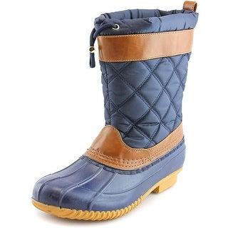 Isaac Mizrahi Sleet Round Toe Canvas Snow Boot