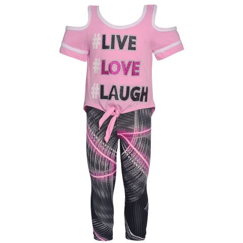 fc420cf8e1ce7c Buy Girls' Sets Online at Overstock | Our Best Girls' Clothing Deals