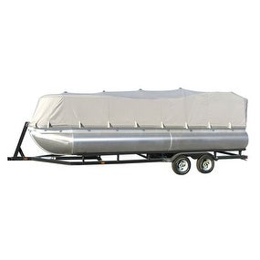 Armor Shield Trailer Guard Pontoon Boat Cover 17'-20'L Beam Width to 96''