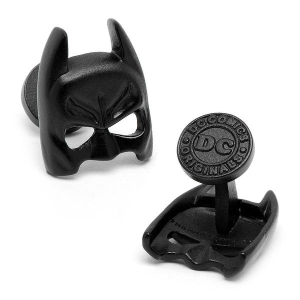 Satin Black Batman Mask Cufflinks