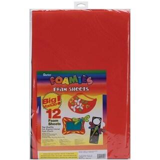 "Foam Sheets 12""X18"" 12/Pkg-Basic Colors"