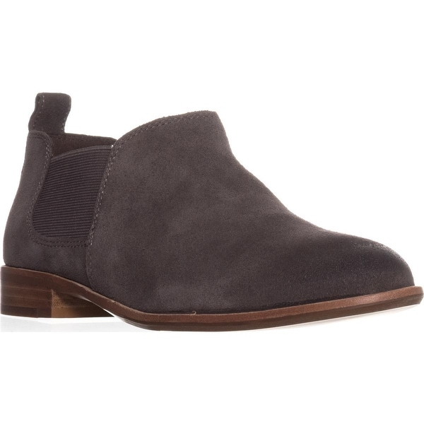 G.H. Bass & Co. Brooke Short Chelsea Boots, Charcoal