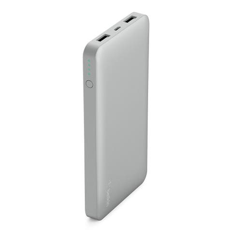 Belkin 10000 mAh Power Bank Battery Pack with Dual USB Ports