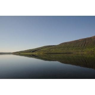 Lake Water And Hills Photograph Art Print