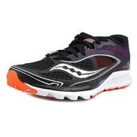 Saucony Kinvara 7 Men Blk/Pur/Org Running Shoes