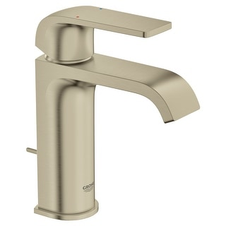 Grohe 23 868  Defined 1.2 GPM Single Hole Bathroom Faucet with Pop-Up Drain Assembly, SilkMove and EcoJoy Technologies