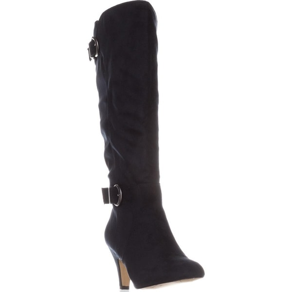Bella Vita Toni II Wide Calf Knee-High Boots, Navy