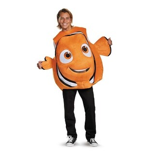 Adult Nemo Fish Disney Costume Standard Size - standard - one size