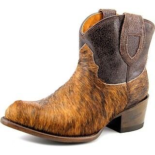 Ranger   Round Toe Suede  Western Boot