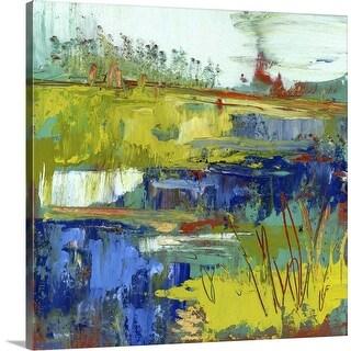 """""""Abstract Marsh III"""" Canvas Wall Art"""