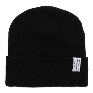 TopHeadwear Logo Winter Long Beanie, Black