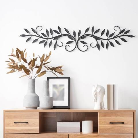 Oak Leaf Metal Wall Decor