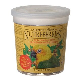 Lafeber Classic Nutri-Berries Conure Food 12.5 oz Tub