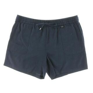 Lauren Ralph Lauren Womens Casual Shorts Tencel Drapey
