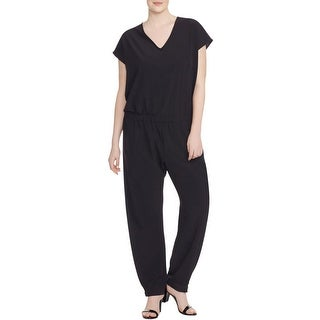 Love Scarlett Womens Plus Jumpsuit Solid Polyester