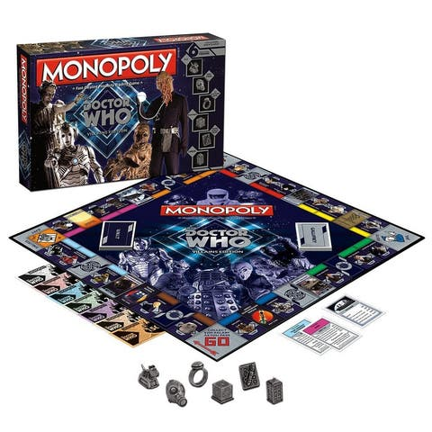 Doctor Who Monopoly Board Game - Multi