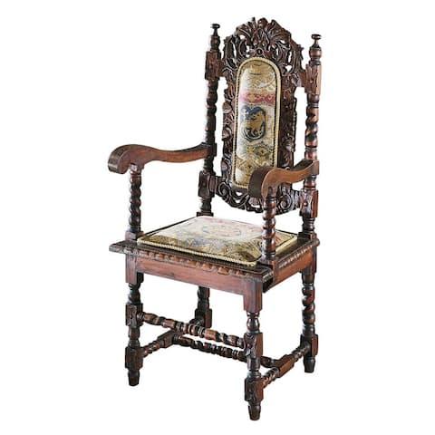 Design Toscano Charles II Armchair