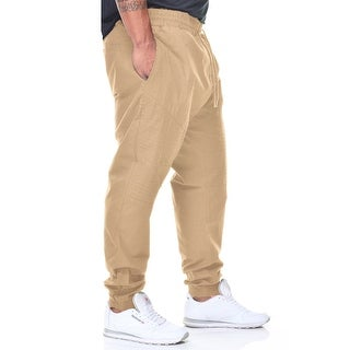 Fly Society Big Men's Stretch Twill Cargo Jogger Pant (More options available)