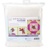 Square In A Square - Quilt As You Go Express Printed Quilt Blocks On Batting
