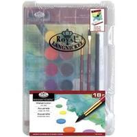 Watercolor Art 18Pc - Clearview Mini Art Set