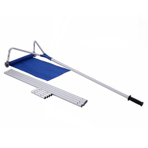 "20 ft Lightweight Roof Rake Snow Removal Tool - 20' x 16""(L x W)"