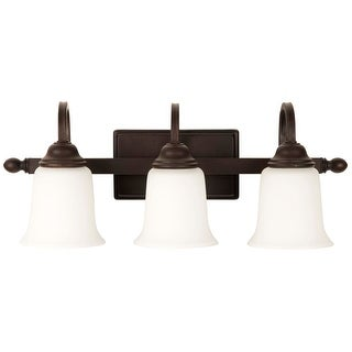 "Craftmade 152203-WG Madison 3 Light Bathroom Vanity Light - 21"" Wide"