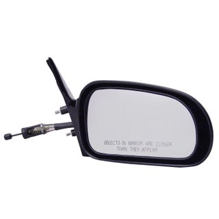 Pilot Automotive TYC 6510111 Black Passenger/ Driver Side Manual Remote Replacement Mirror for Mitsubishi Eclipse (2 options available)