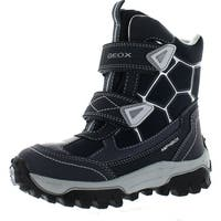 Geox Boys Himalaya Waterproof Fashion Winter Snow Boots