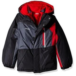 London Fog Boys 8-20 Fog 4-in-1 System Jacket Winter Coat