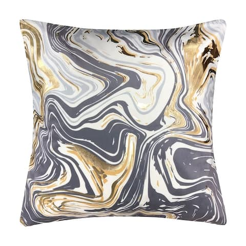 Malee Marble Throw Pillow 18x18