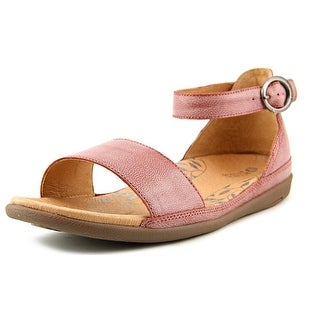 Acorn Prima High Ankle Women Open Toe Leather Pink Sandals