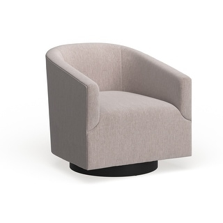 Link to Copper Grove Pregrada Wood-base Swivel Chair - See Product Description Similar Items in Living Room Chairs