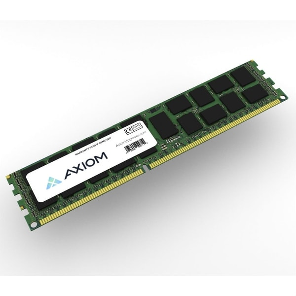 Axiom A5681559-AX Axiom 8GB Dual Rank Module - 8 GB - DDR3 SDRAM - 1600 MHz DDR3-1600/PC3-12800 - ECC - Registered - 240-pin -