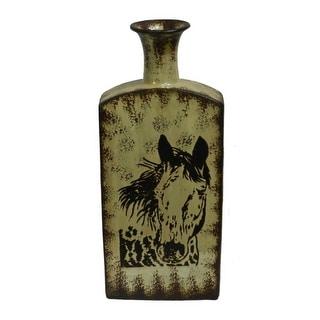Stylish Ceramic Vase - Benzara