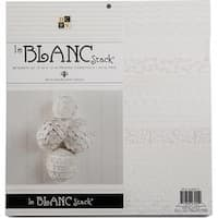 """Le Blanc - Dcwv Cardstock Stack 12""""X12"""" 36/Pkg"""