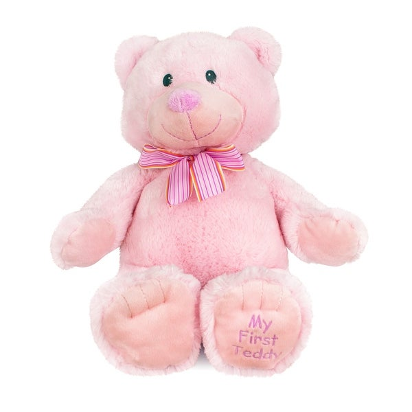 Russ Berrie My First Teddy Bear Pink