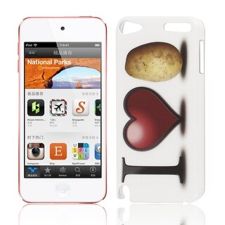 I Love Potato Pattern IMD Hard Protector Back Case Cover for iPod Touch 5 5G
