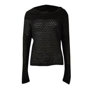 Sanctuary Women's Multi-Knit Cowl Neck Sweater