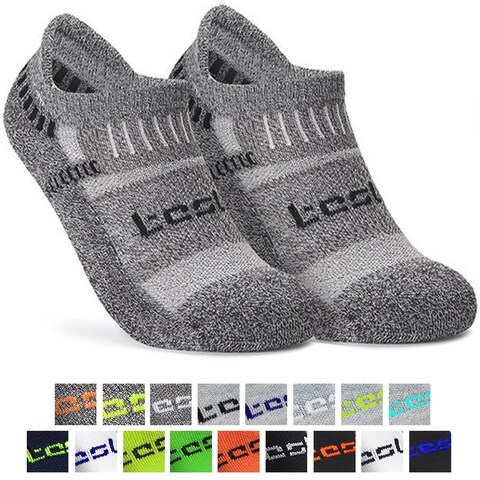 Tesla TM-MZS04 Low-Cut Comfort Cushion Athletic Socks - 6-Pack