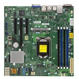 Supermicro Motherboard MBD-X11SSL-F-O(3YR) S1151 C232 64GB DDR4 PCI Express SATA MATX Brown Box