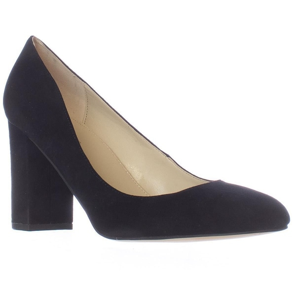 Marc Fisher Isabelle Block Heel Pumps, Black