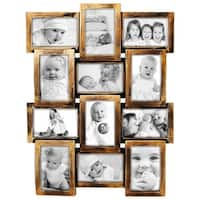 HELLO LAURA 12 Opening Decorative Wall Hanging Collage Puzzle Picture Photo Frame