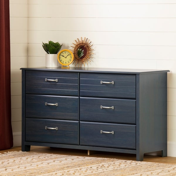 South Shore Asten 6-Drawer Double Dresser. Opens flyout.