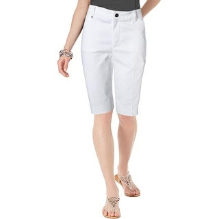 Lauren Ralph Lauren Womens Bermuda, Walking Shorts Active Solid