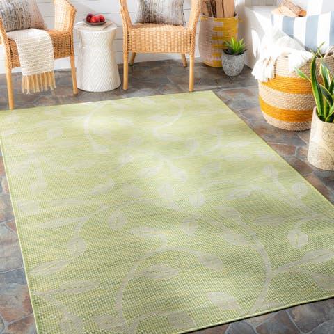 Otis Indoor / Outdoor Floral Area Rug