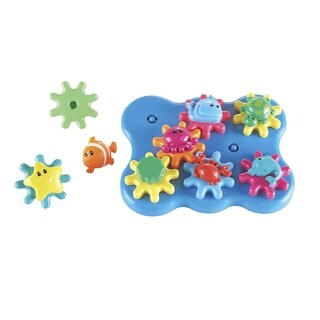 Learning Resources Jr. Gears Under the Sea, Set of 17